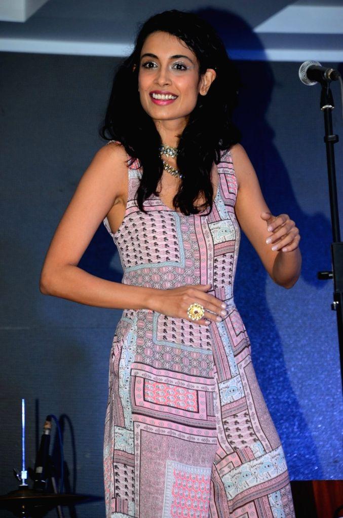 Actress Sarah Jane Dias during the promotion of film Zubaan in Mumbai on Jan 23, 2016. - Sarah Jane Dias