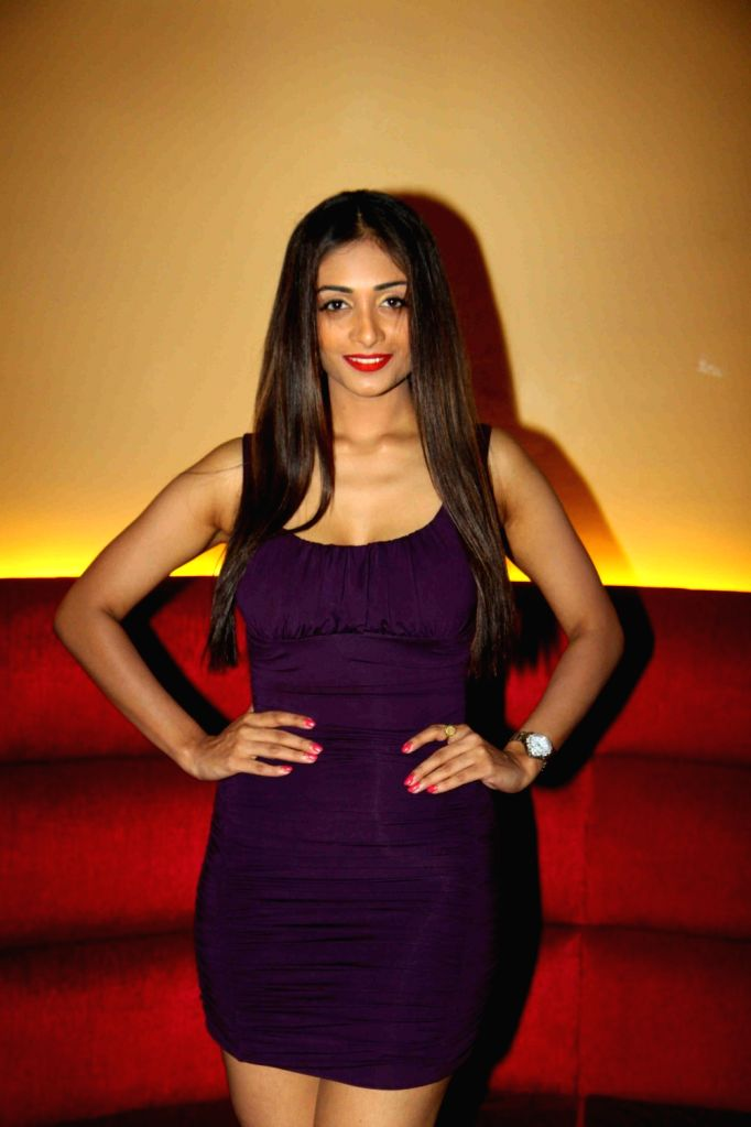 Actress Satarupa Pyne during the trailer launch of film Calendar Girls in Mumbai, on Aug 18, 2015. - Satarupa Pyne