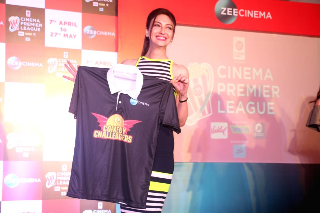 Actress Saumya Tandon at the launch of Zee Cinema Premier League in Mumbai on April 5, 2018. - Saumya Tandon