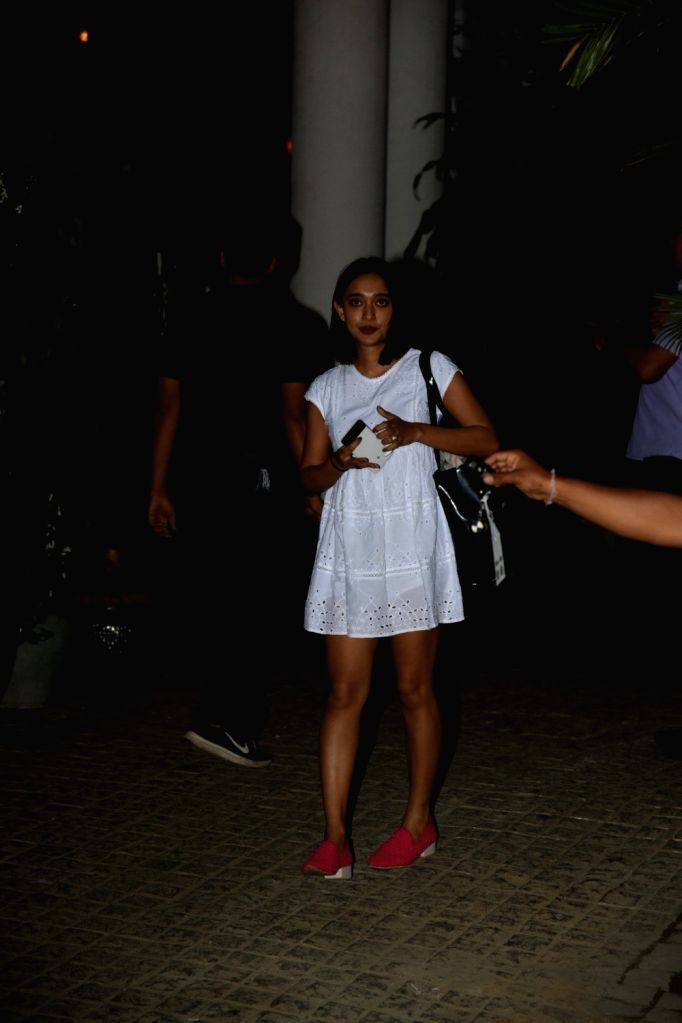 Actress Sayani Gupta seen at Mumbai's Juhu, on Feb 6, 2019. - Sayani Gupta