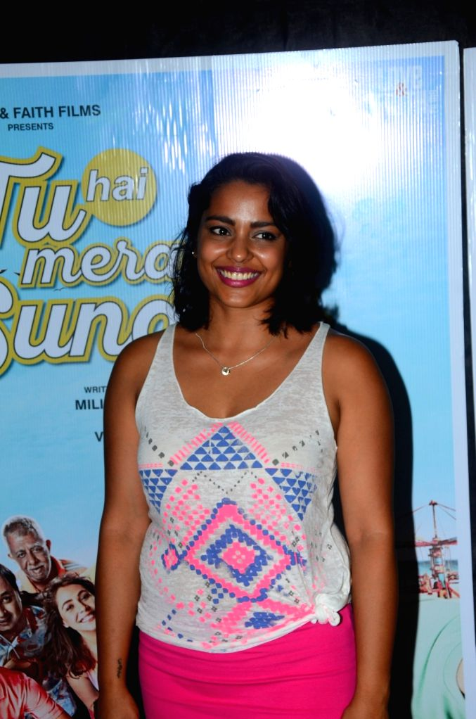 "Actress Shahana Goswami during the promotions of her upcoming film ""Tu Hai Mera Sunday"" in Mumbai on Sept 17, 2017. - Shahana Goswami"