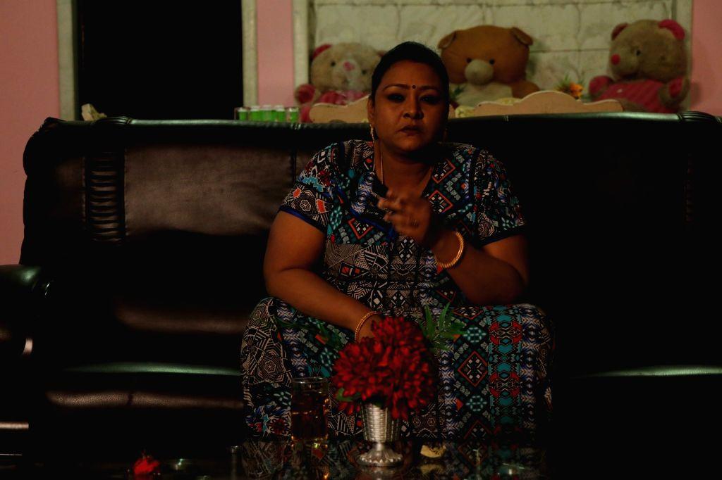 """Actress Shakeela's look in upcoming film """"Sheelavathi"""". - Shakeel"""