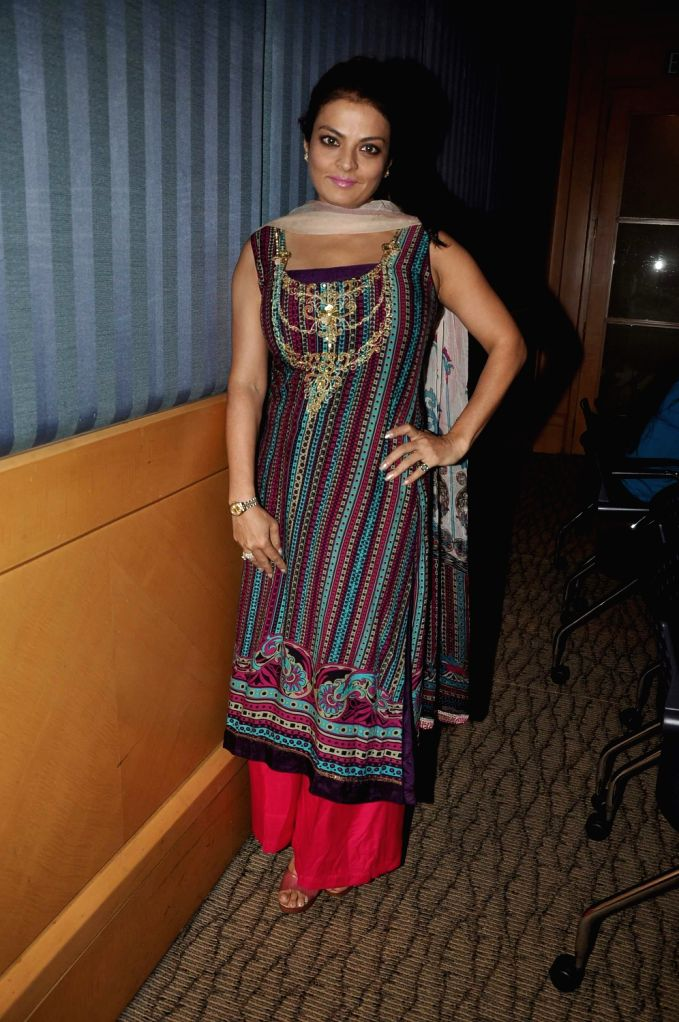 """Actress Sheeba during the announcement of the forthcoming panel discussion of """"Domestic Abuse & Battered Women Responsibility & Obligations of the Privileged Class"""" in Mumbai on ... - Sheeba"""