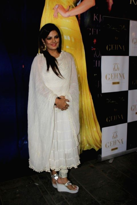 Actress Sheeba during the preview of Miraki collection by Shaheen Abbas for Gehna Jewellers in Mumbai, on Nov 24, 2015. - Sheeba