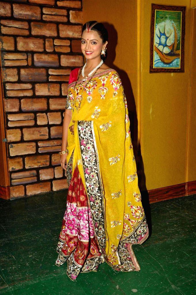 Actress Sheetal Maudlik during the party to celebrate the success of Hindi play `Sab Golmaal Hai`, in Mumbai, on July 5, 2015. - Sheetal Maudlik