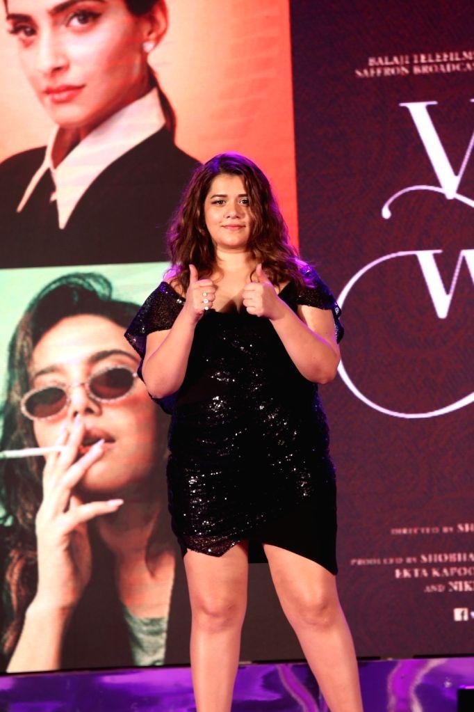 "Actress Shikha Talsania at the music launch of her upcoming film ""Veere Di Wedding"" in Mumbai on May 22, 2018. - Shikha Talsania"