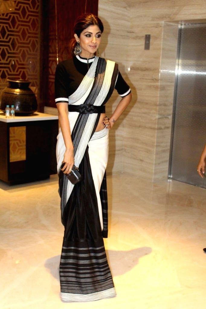 Actress Shilpa Shetty at  Best Iconic Brands Summit in Mumbai on March 24, 2017. - Shilpa Shetty