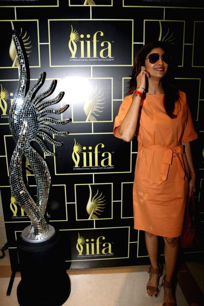 Actress Shilpa Shetty during the International Indian Film Academy Awards (IIFA) Voting Weekend in Mumbai on April 16, 2017. - Shilpa Shetty