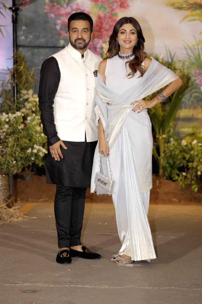 Sonam Kapoor And Anand Ahujas Wedding Reception Shilpa Shetty
