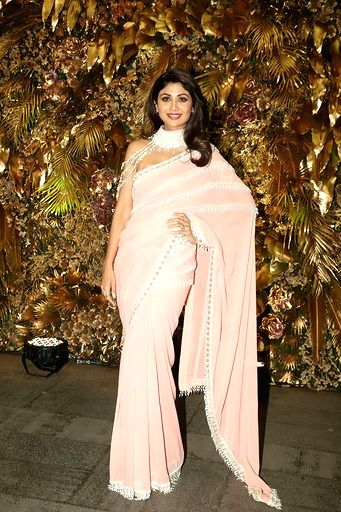 Actress Shilpa Shetty's daughter Samisha, who was born through surrogacy in February, turned 40 days old on Thursday. (File Photo: IANS) - Shilpa Shetty