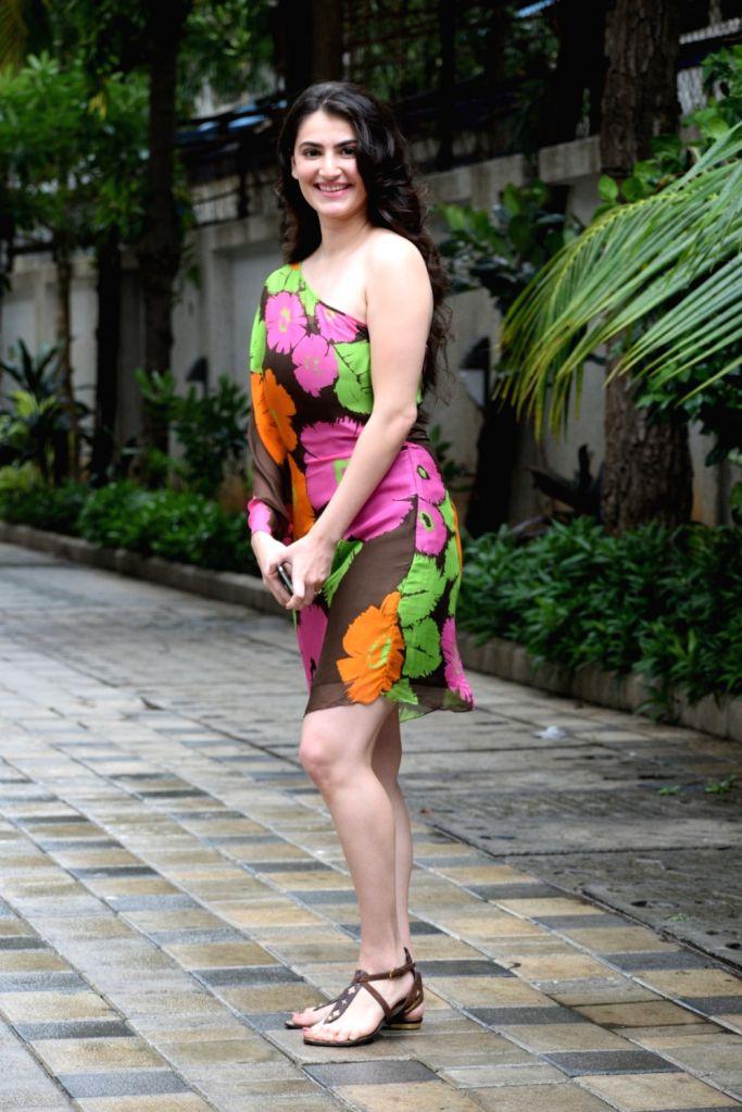 Actress Shivaleeka Oberoi seen at Pen Studios in Mumbai on June 15, 2019. - Shivaleeka Oberoi