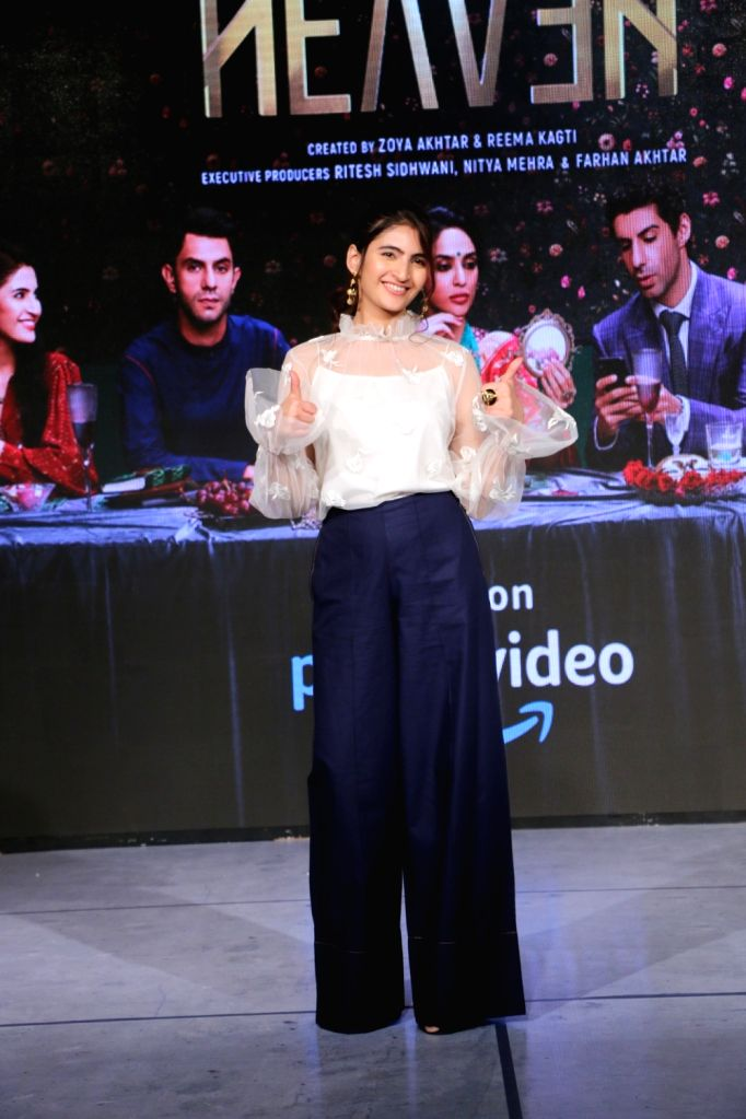 "Actress Shivani Raghuvanshi during the launch of her upcoming web series ""Made In Heaven"" with Amazon Prime Video in Mumbai, on March 7, 2019. - Shivani Raghuvanshi"