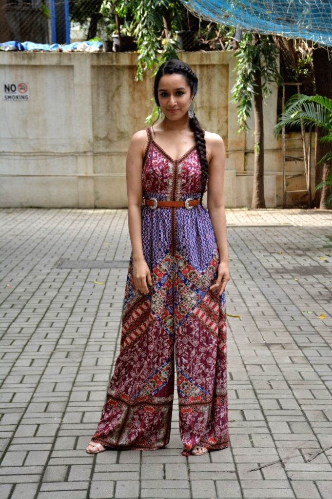 """Actress Shraddha Kapoor at the promotion of her upcoming film """"Stree"""" in Mumbai on Aug 6, 2018. - Shraddha Kapoor"""
