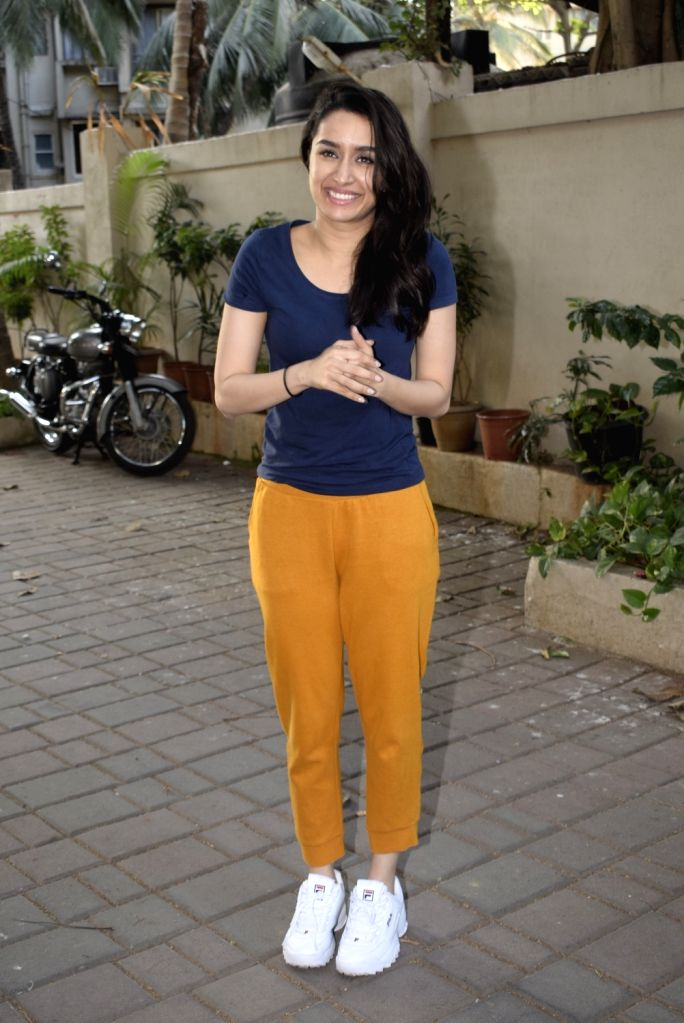 Actress Shraddha Kapoor celebrates her birthday at Juhu in Mumbai on March 3, 2019. - Shraddha Kapoor
