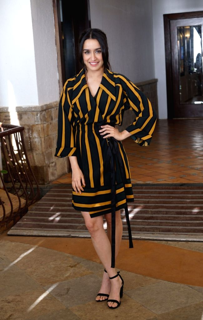 "Actress Shraddha Kapoor during the promotion of her upcoming film ""Batti Gul Meter Chalu"" in Mumbai on Sept 17, 2018. - Shraddha Kapoor"