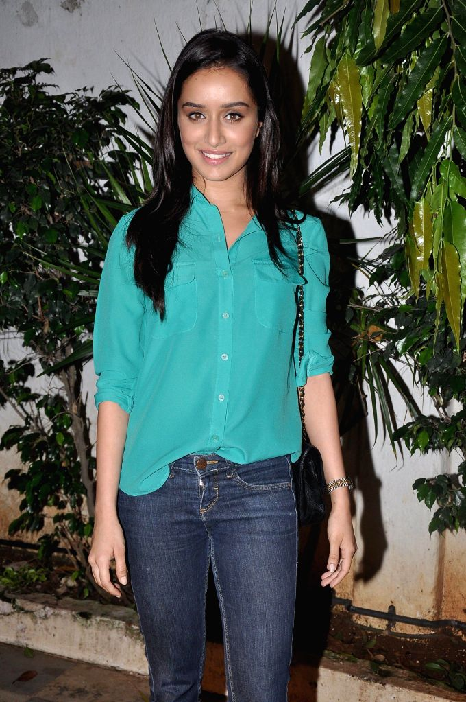 Actress Shraddha Kapoor during the success party of the film Ek Villain in Mumbai on 5th July 2014 - Shraddha Kapoor