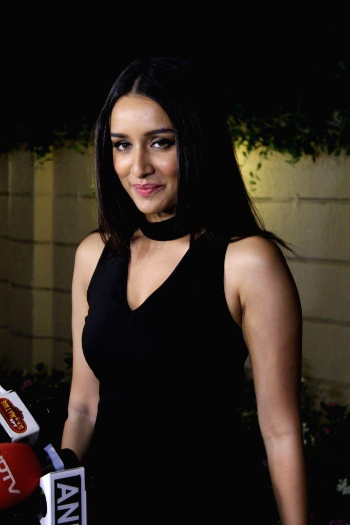 Actress Shraddha Kapoor during the success party of film Half Girlfriend in Mumbai on May 26, 2017. - Shraddha Kapoor