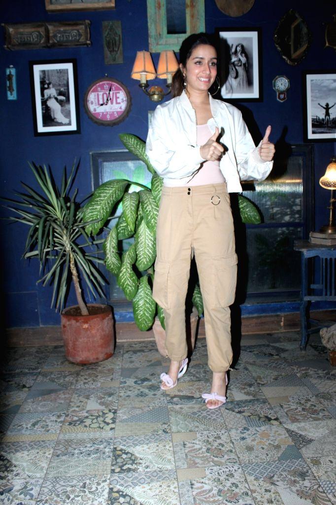 Actress Shraddha Kapoor seen at Bandra in Mumbai on Feb 5, 2020. - Shraddha Kapoor