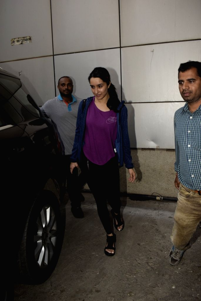 Actress Shraddha Kapoor seen at Mumbai's Andheri, on Feb 5, 2019. - Shraddha Kapoor