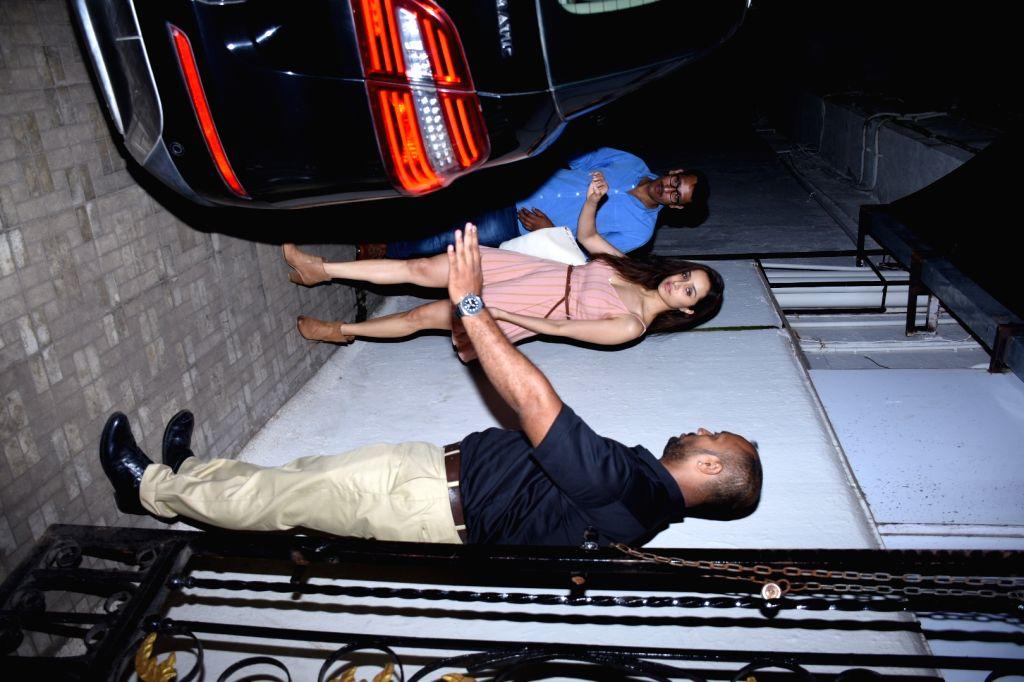 Actress Shraddha Kapoor seen at the office of Dharma Productions at Bandra in Mumbai on Nov 6, 2019. - Shraddha Kapoor