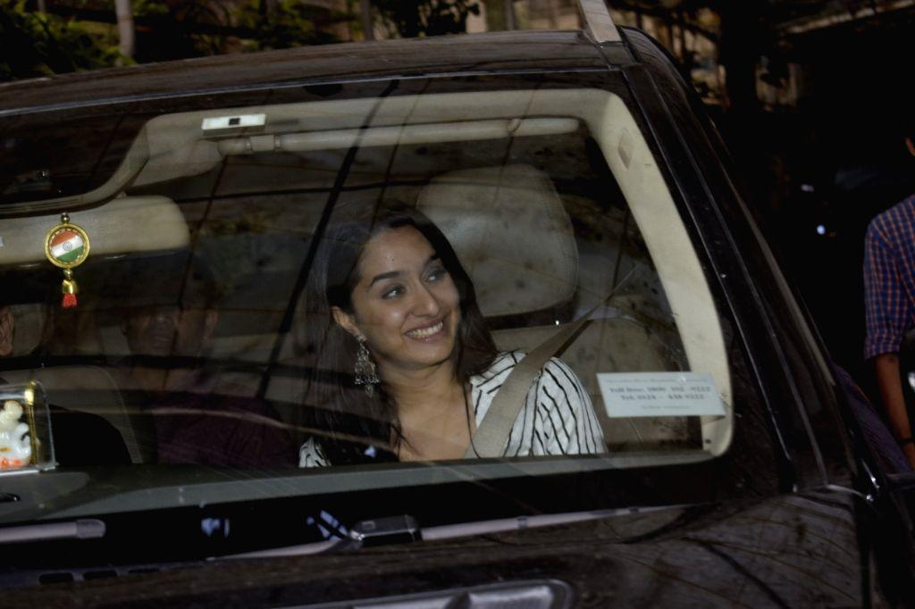 Actress Shraddha Kapoor seen in Mumbai's Juhu on Sept 3, 2018. - Shraddha Kapoor