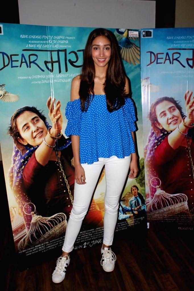 Actress Shreya Chaudhary during the interview for film Dear Maya in Mumbai on May 27, 2017. - Shreya Chaudhary