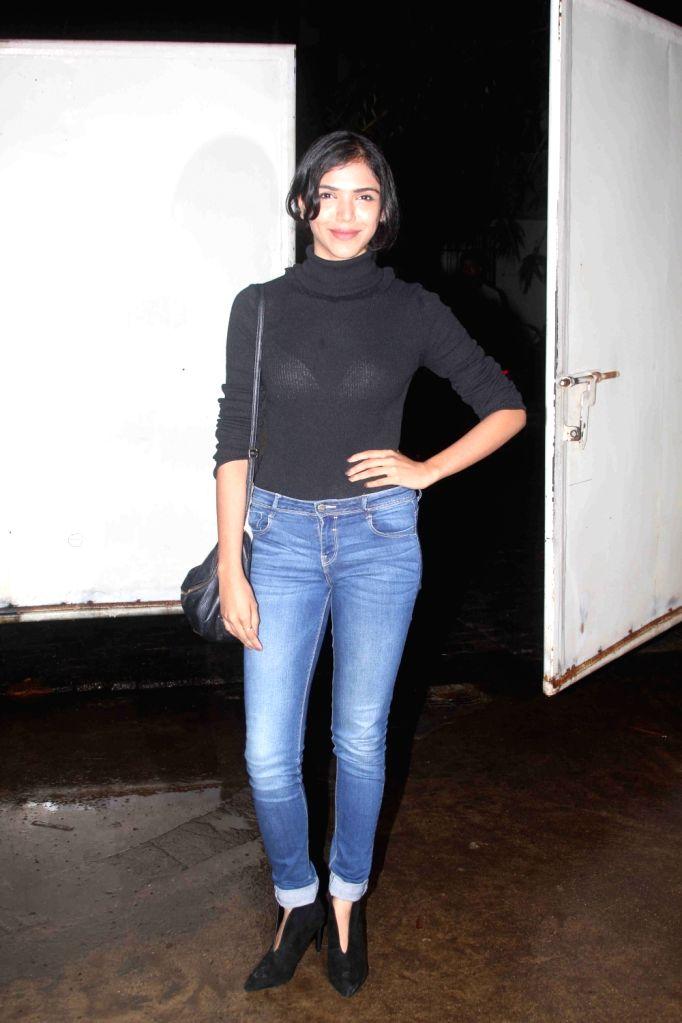 Actress Shriya Pilgaonkar during the screening of film Queen of Katwe in Mumbai on Oct 5, 2016. - Shriya Pilgaonkar