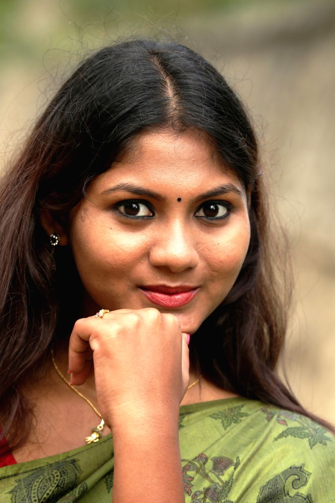 Actress Shruthi Reddy during a photo shoot.