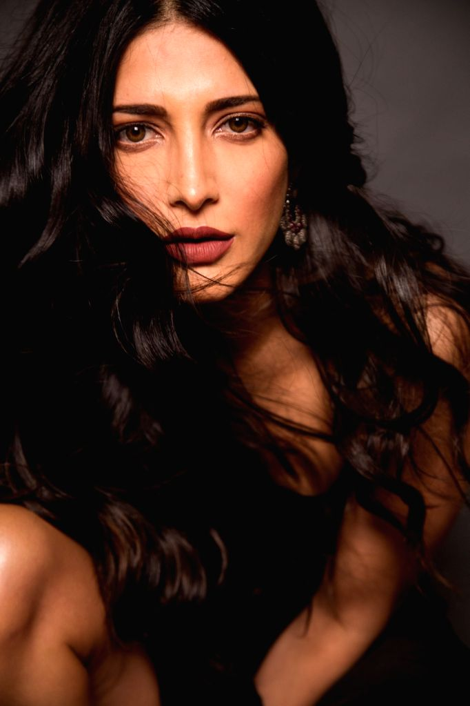 Actress Shruti Haasan. - Shruti Haasan