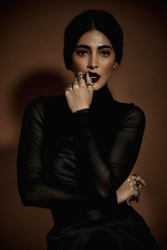 Actress Shruti Haasan. - Shruti Haasan