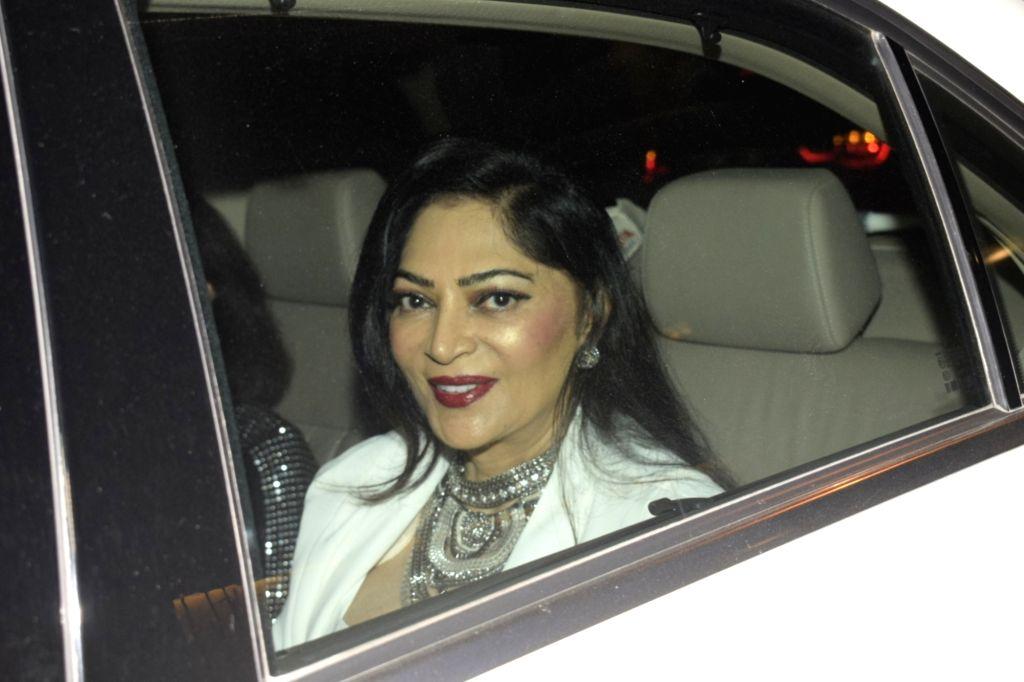 Actress Simi Garewal. (Photo: IANS) - Simi Garewal
