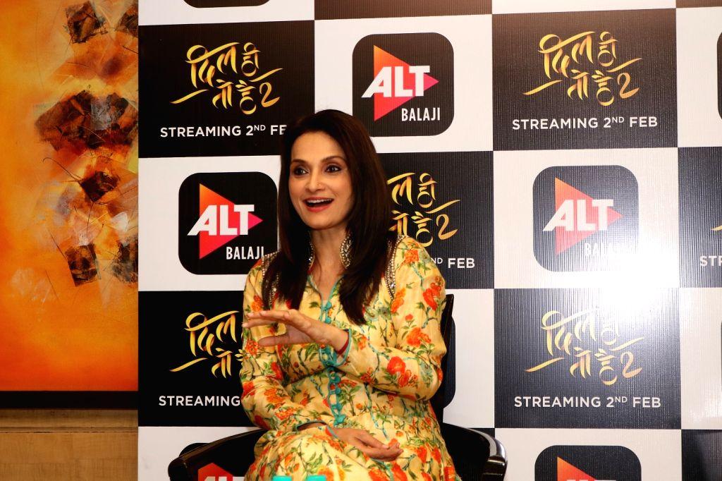 Actress-singer Rajeshwari Sachdev