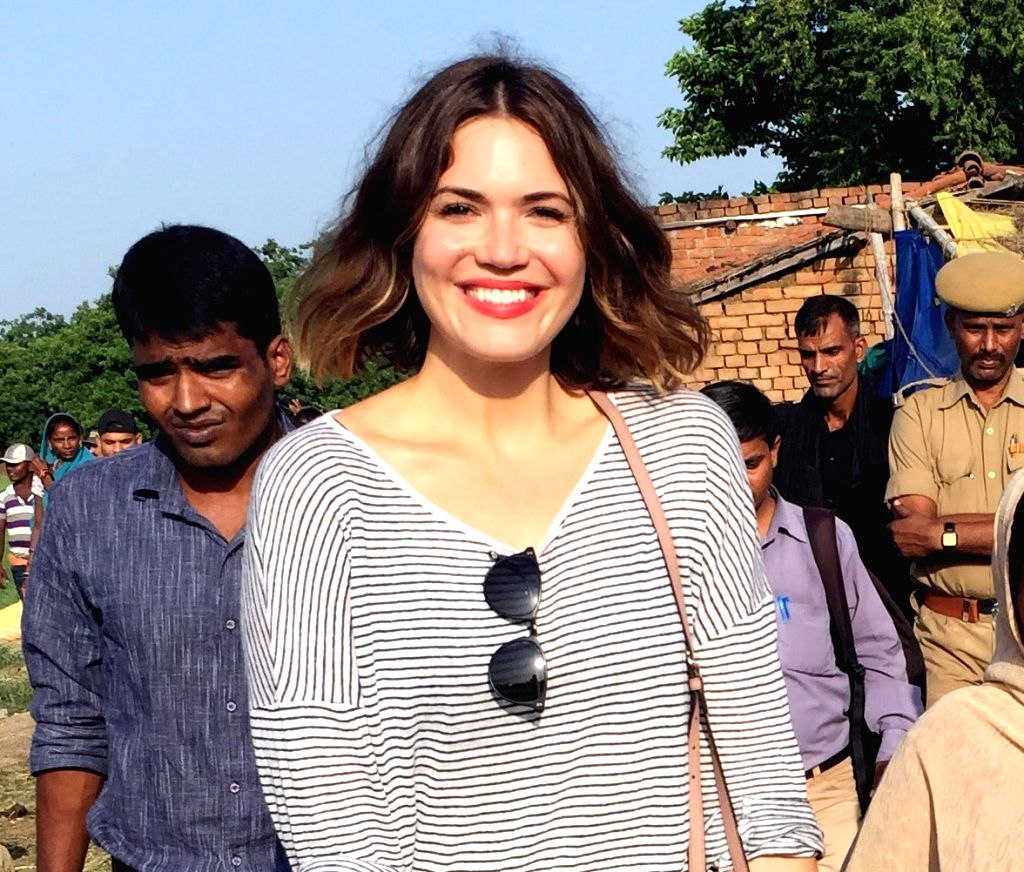 Actress, singer-songwriter Mandy Moore. (File Photo: IANS)
