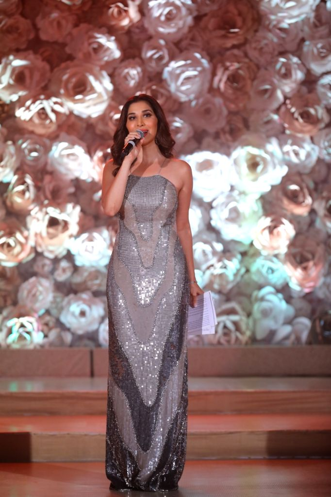 Actress-singer Sophie Choudry  at the Miss Diva sub contest in New Delhi on Aug 9, 2018.