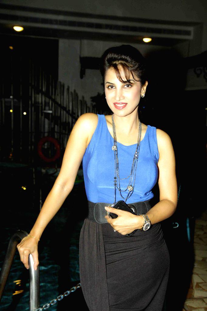 Actress Smita Gondkar during the trailer and music launch of film Shutter in Mumbai, on June 24, 2015. - Smita Gondkar