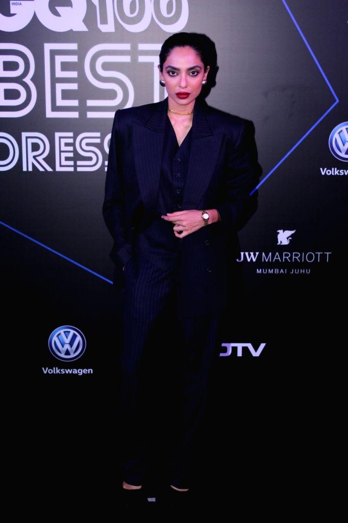 "Actress Sobhita Dhulipala at ""GQ 100 Best Dressed Awards 2019"", in Mumbai, on June 1, 2019. - Sobhita Dhulipala"
