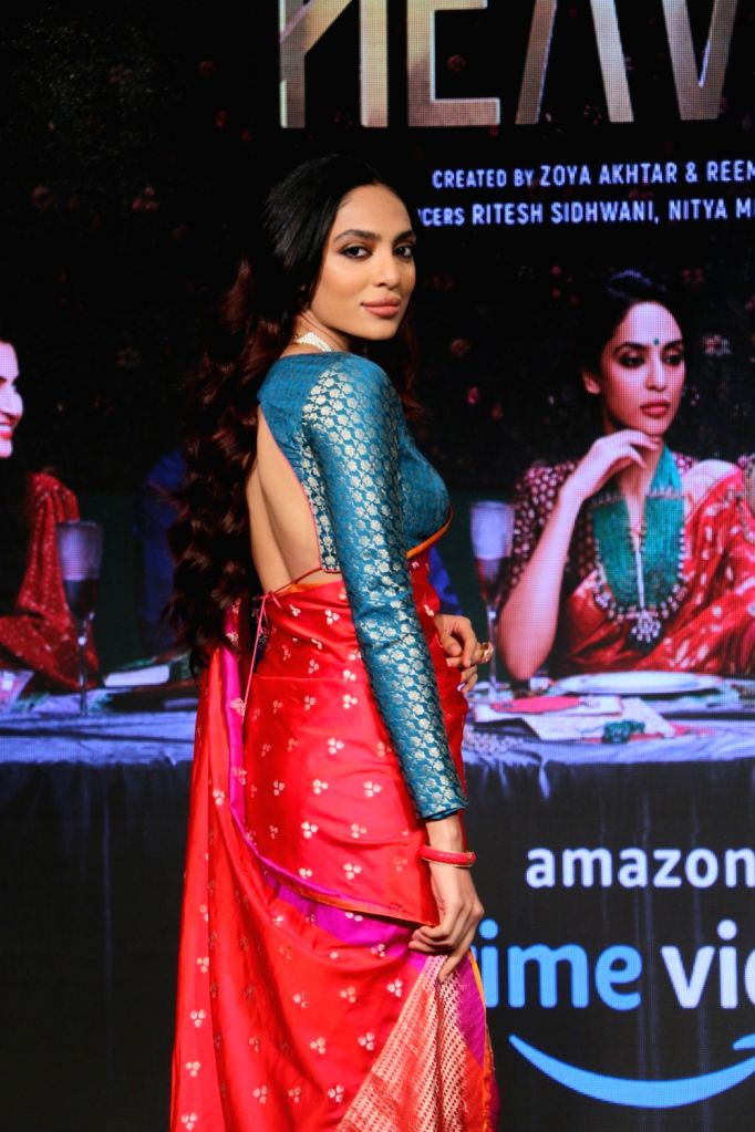 "Actress Sobhita Dhulipala during the launch of her upcoming web series ""Made In Heaven"" with Amazon Prime Video in Mumbai, on March 7, 2019. - Sobhita Dhulipala"