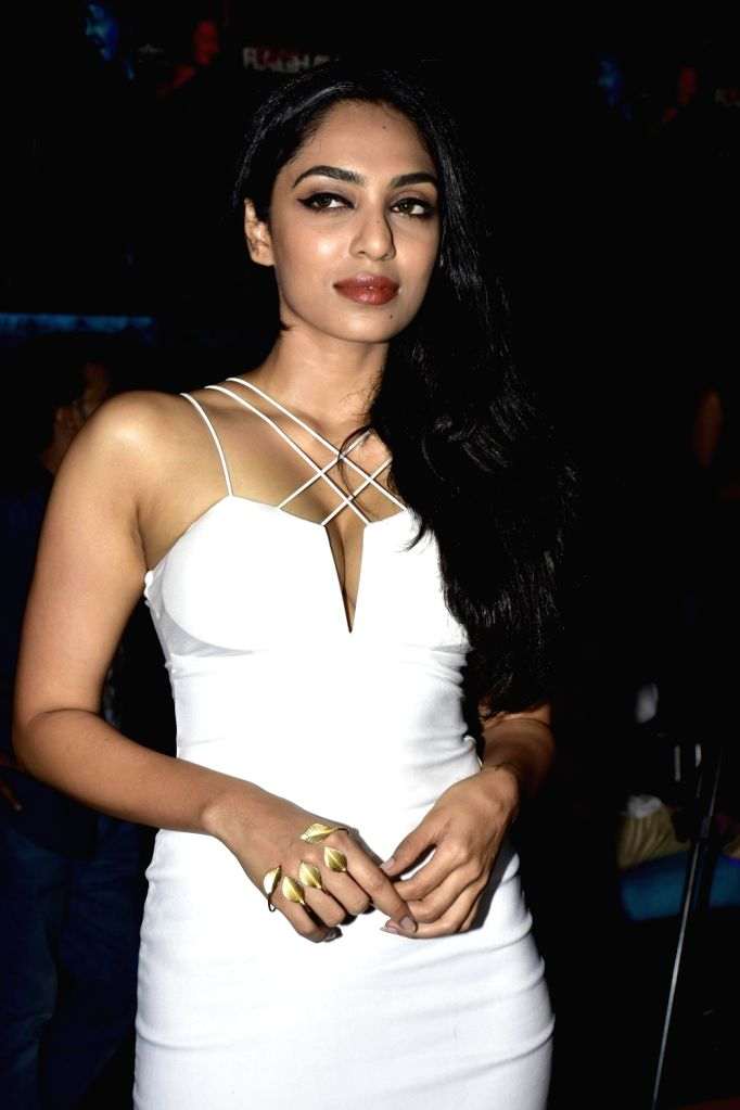Actress Sobhita Dhuliwala during launch of song, Qatl-e-Aam from film Raman Raghav 2.0, in Mumbai on June 03, 2016. - Sobhita Dhuliwala