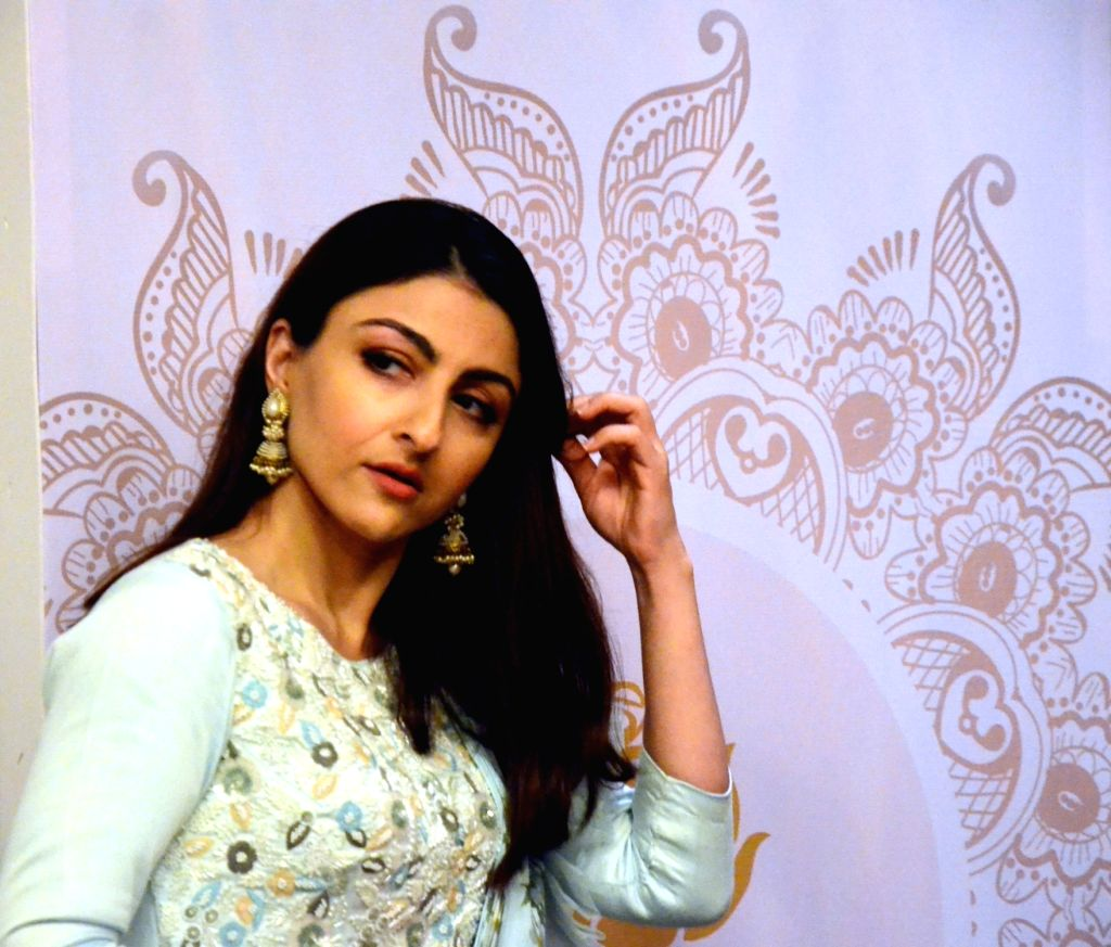 Actress Soha Ali Khan at the launch of a range of Ayurvedic beauty products, in Mumbai on June 6, 2018. - Soha Ali Khan