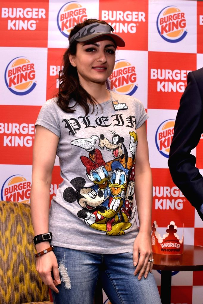 Actress Soha Ali Khan during a promotional programme in Jaipur, on May 19, 2016. - Soha Ali Khan