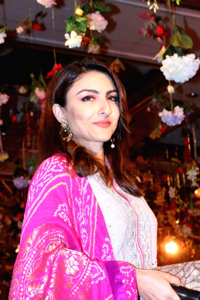 Actress Soha Ali Khan during the MCan Foundation 4th annual charity gala and fundraiser `Cansurvive` to raise funds for underprivileged cancer patients at the Tata Memorial Hospital in ... - Soha Ali Khan