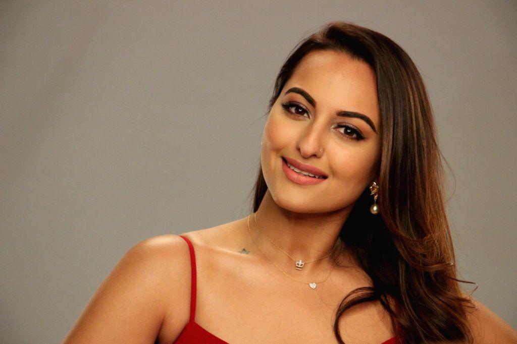 Actress Sonakshi Sinha during the media interaction of dance reality show Nach Baliye Season 8 in Mumbai on March 14, 2017. - Sonakshi Sinha
