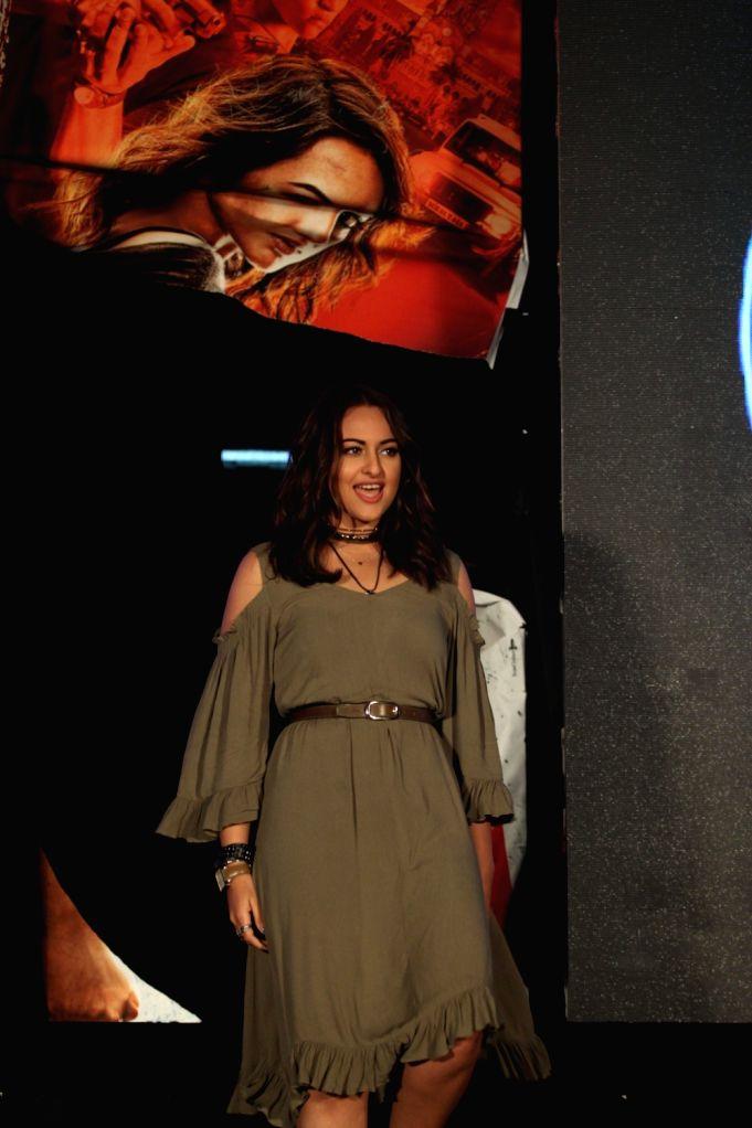 Actress Sonakshi Sinha during the trailer launch of film 'Akira' in Mumbai  on July 4, 2016. - Sonakshi Sinha