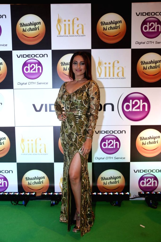 Actress Sonakshi Sinha during Videocon d2h IIFA Rocks 2016 in Madrid on June 24, 2016. - Sonakshi Sinha