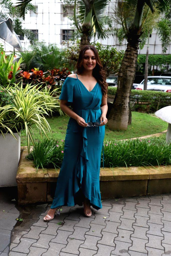 Actress Sonakshi Sinha seen in Mumbai on Sep 6, 2019. - Sonakshi Sinha