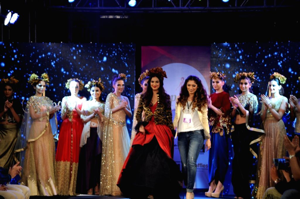 Actress Sonal Chauhan participate walk for Applause for Cause, a fund raising fashion show for an NGO called Access Life that caters to cancer treatments for children in Mumbai, on Nov 28, ... - Sonal Chauhan