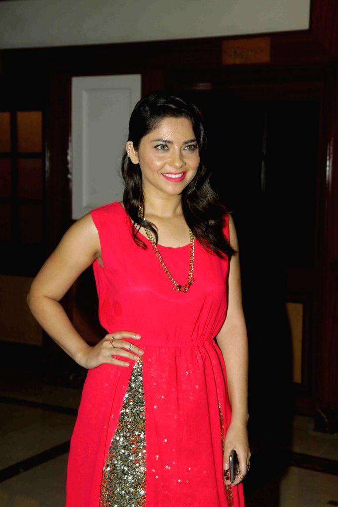 Actress Sonalee Kulkarni during the trailer and music launch of film Shutter in Mumbai, on June 24, 2015. - Sonalee Kulkarni