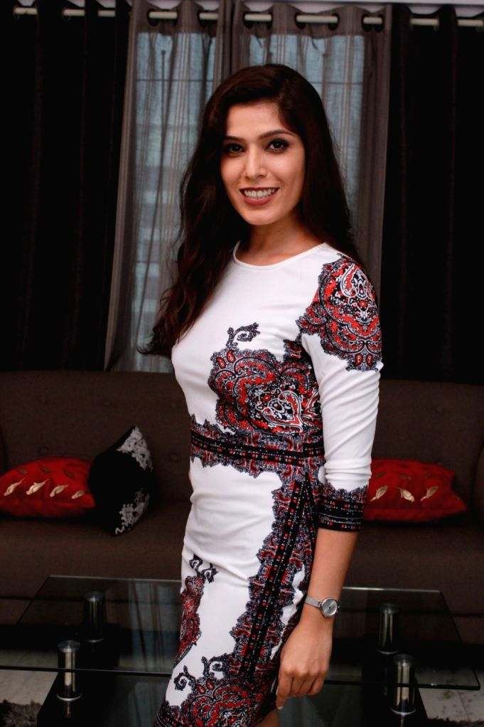 Actress Sonam Arora during a photo shoot at a media interaction, in Mumbai on July 25, 2019. - Sonam Arora