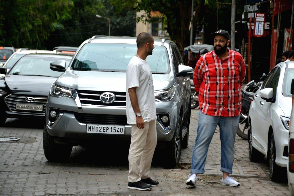 Actress Sonam Kapoor Ahuja's husband Anand Ahuja seen at Mumbai's Bandra on July 26, 2018. - Sonam Kapoor Ahuj
