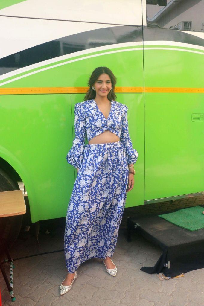 Actress Sonam Kapoor Ahuja seen at a Bandra studio in Mumbai on May 24, 2018. - Sonam Kapoor Ahuja